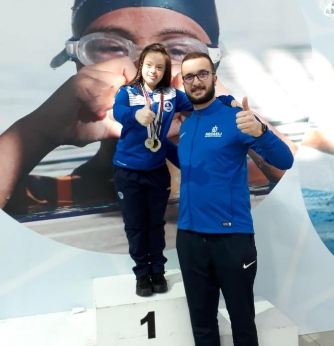 Antalya'da engel tanımayan Şevval, Türkiye şampiyonluğuna hazırlanıyor