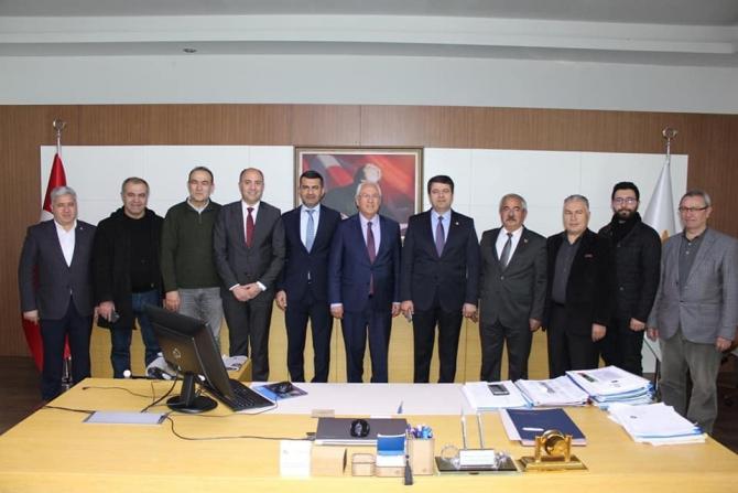 CHP heyeti Ankara ve İzmir'de ziyaretlerde bulundu