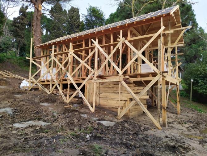 Orman Kampı Mesire alanına yapılmak istenilen ahşap evlere tepki