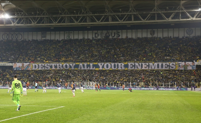 Süper Lig: Fenerbahçe: 1 - Galatasaray: 3 (Maç sonucu)