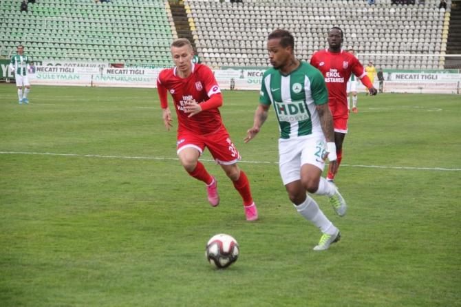 TFF 1. Lig: Giresunspor: 0 - EH Balıkesirspor: 2 (İlk yarı sonucu)