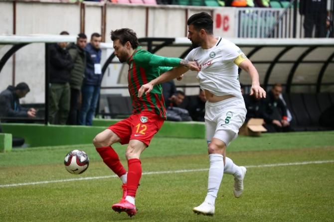 Amed Sportif Faaliyetler sahasında 1922 Konyaspor ile yenişemedi