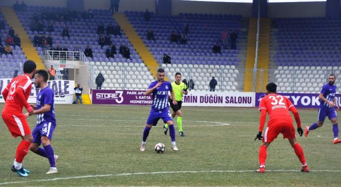 TFF 2. Lig: AFJET Afyonspor: 2 - Pendikspor: 0