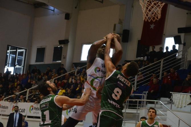 Türkiye Basketbol Ligi: Petkimspor: 75 - Konyaspor: 57