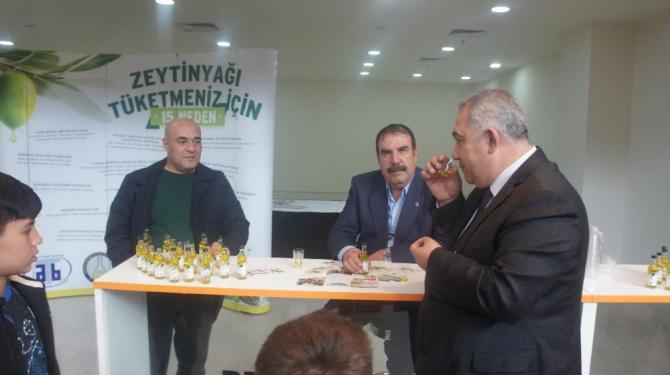 Gaziantepliler 'Aydın Zeytinyağı'na yoğun ilgi gösterdi