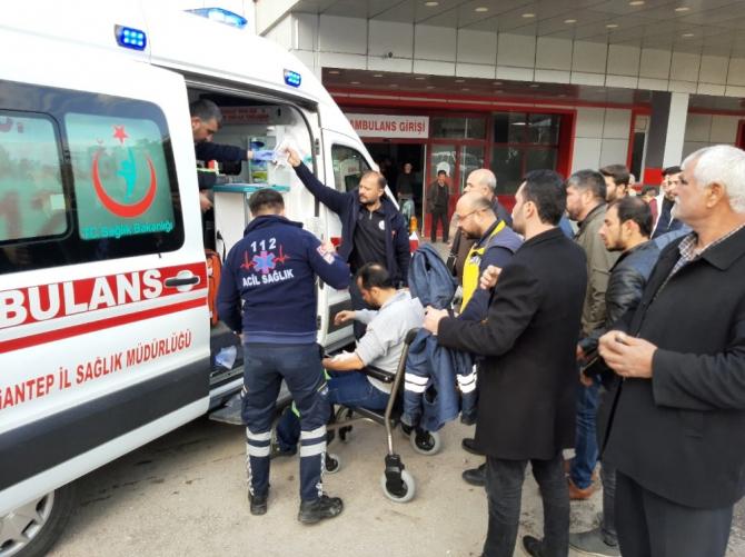 Karkamış Barajı'nda trafo patladı: 3 yaralı