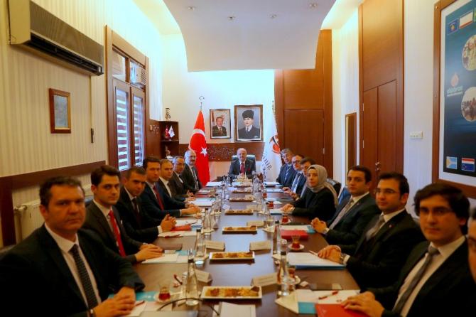 Kaymakamlar toplantısı Vali Çakacak başkanlığında gerçekleştirildi