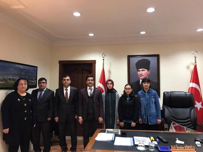 Doğanşehir'de kitap okuma teşviki