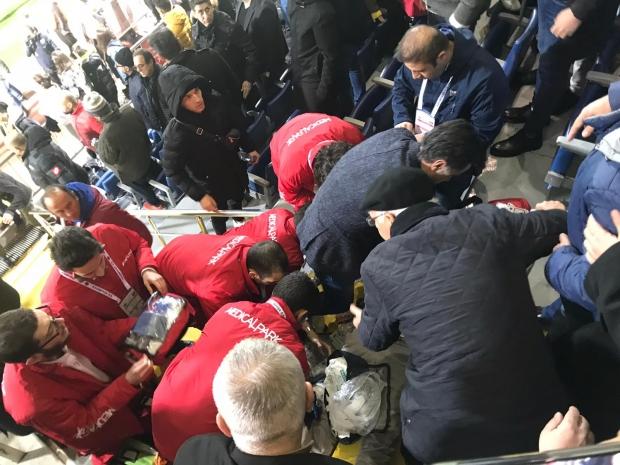Nursal Bilgin, Kasımpaşa - Yukatel Denizlispor maçı sırasında kalp krizi geçirdi