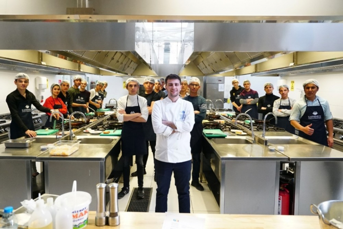 Kapadokya Üniversitesi öğrencileri mutfak atölyeleri yapmaya devam ediyor