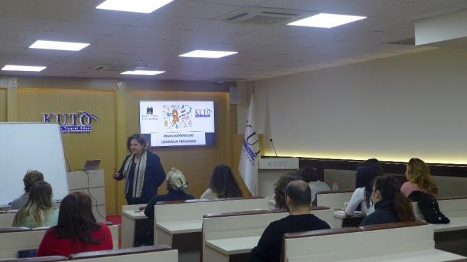 KUTO'da İnsan kaynakları Uzmanlığı Eğitimi tamamlandı