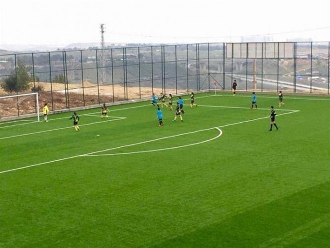 Futbol Gençler Türkiye Grup Birinciliği maçları Mersin'de yapıldı