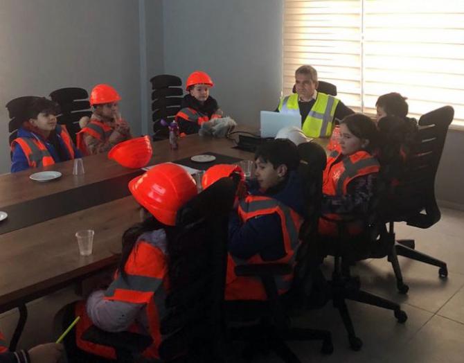 Öğrencilerden çatalca Res'e bilgilenme ziyareti