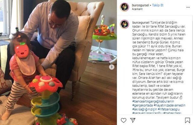 Rifat Sarıcaoğlu'dan Burçe Gürsel'e sprem suçlaması!