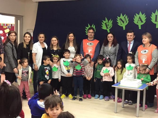 Sinop'un ilk TEMA okulu oldu