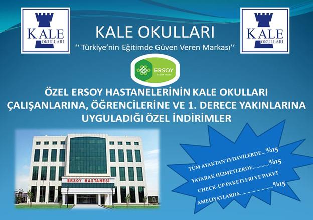 Tuzla Kale Koleji'den eğitime büyük sağlık desteği!
