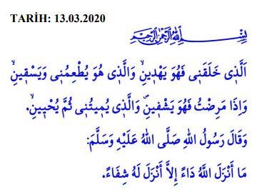 13 Mart 2020 Cuma Hutbesi nedir? Diyanet'te Cuma Hutbesinin konusu nedir?