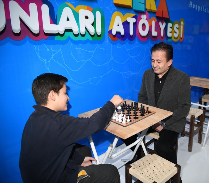 Tuzla'da geleneksel satranç turnuvasında kazananlar belli oldu