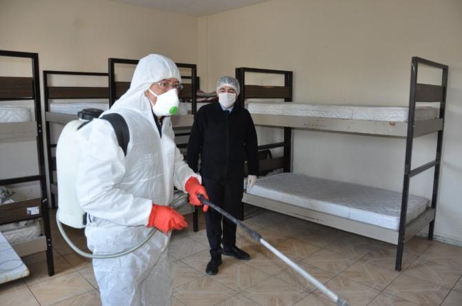 İhsaniye'de koronavirüse karşı önlemler