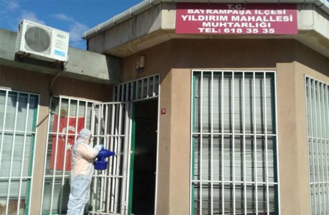 Bayrampaşa'da Korona virüs önlemleri genişletildi