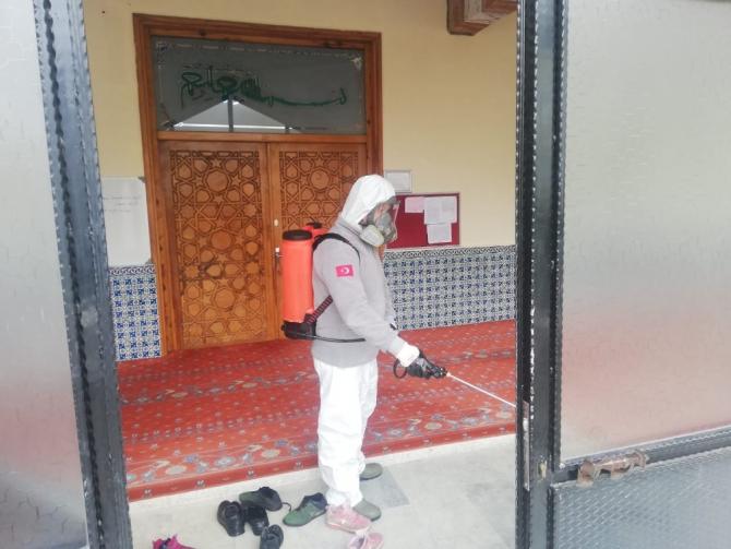 Salihli'de koronavirüs tedbirleri arttırıldı