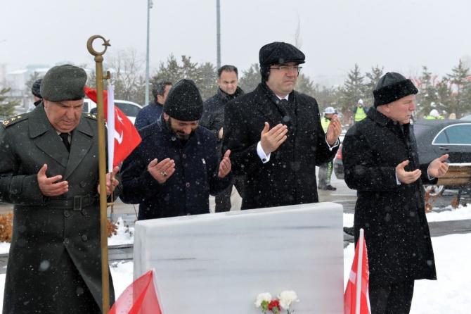 Erzurum'da şehitler dualarla anıldı