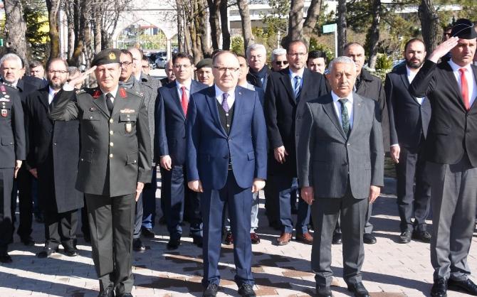 Afyonkarahisar'da Çanakkale Deniz Zaferi'nin 105'inci yıl dönümü