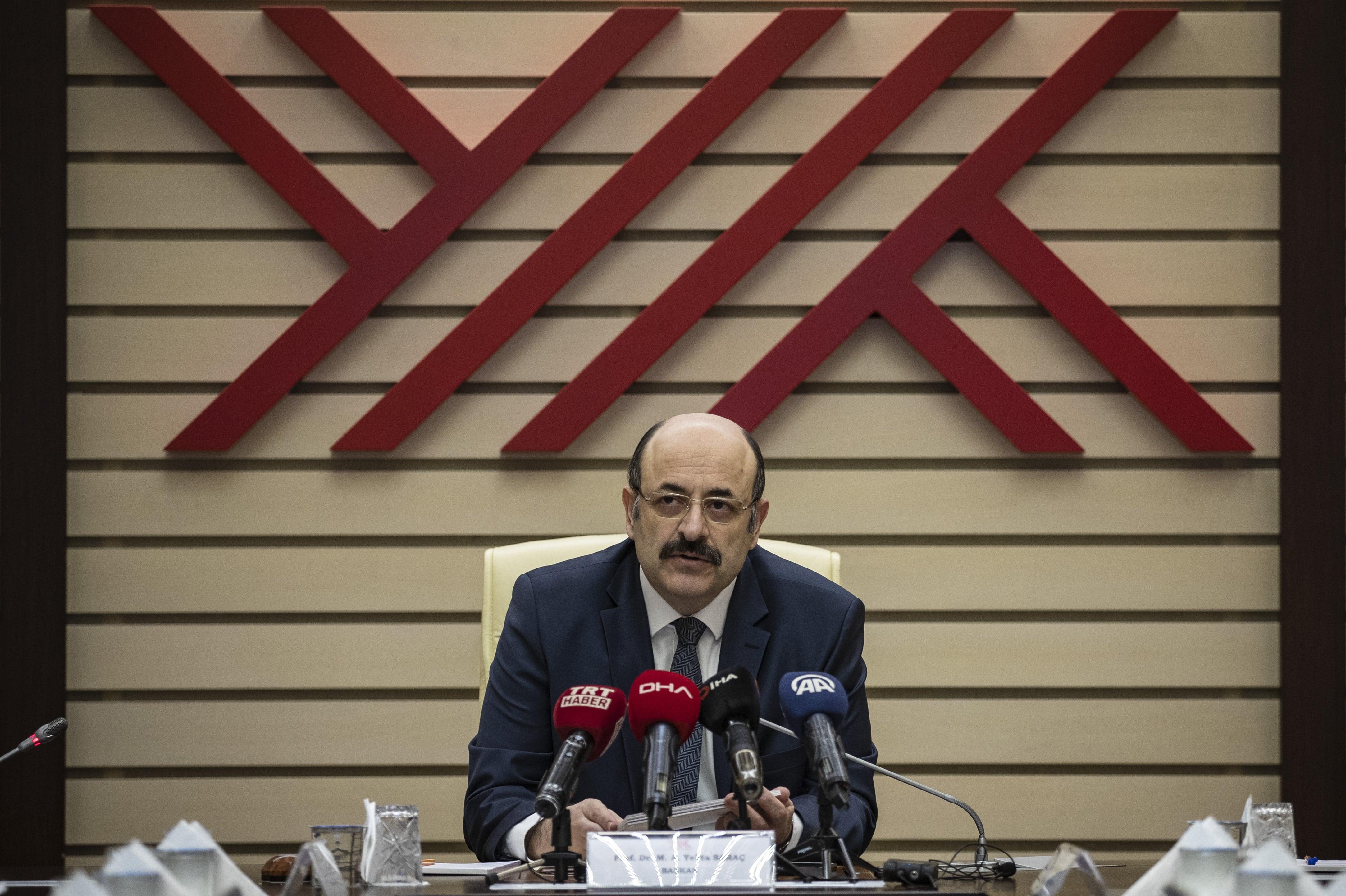 YÖK Başkanı Saraç açıkladı: Üniversitelerde uzaktan eğitim başlıyor