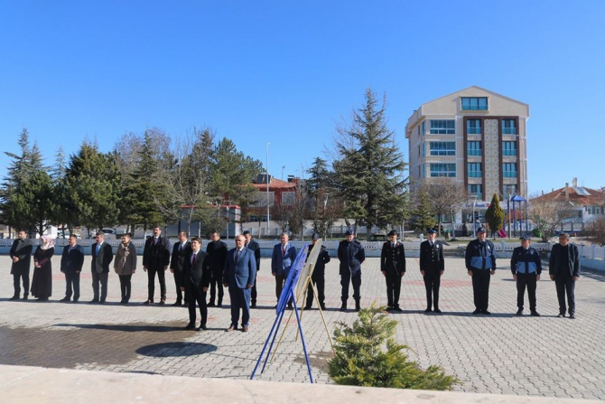 İhsaniye'de 18 Mart Çanakkale Zaferi anma töreni