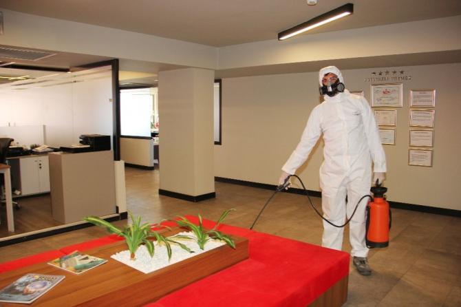 ATB'de Korona virüs önlemleri