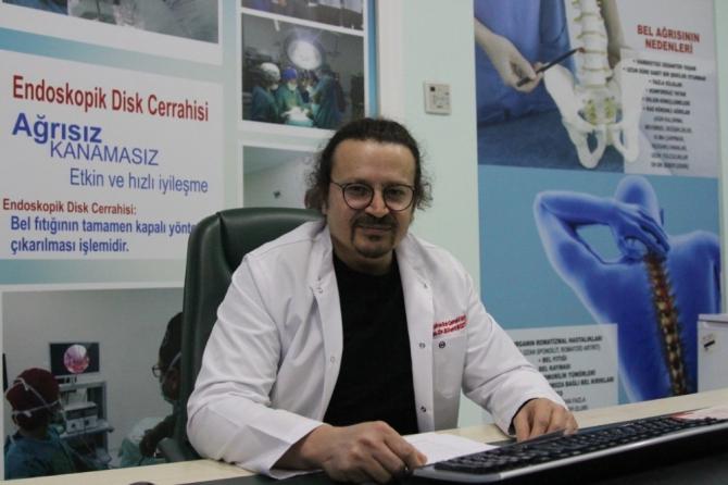 Gözde Akademi Hastanesi dezenfekte edildi