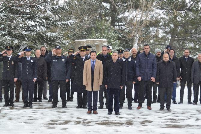 Bünyan'da Çanakkale Şehitleri dualar ile anıldı
