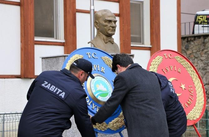 İspir'de Çanakkale Deniz Zaferi'nin 105. yıl dönümü kutlandı