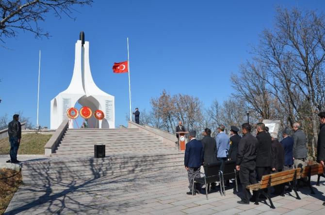 Cevizdere Şehitliği'nde 18 Mart Çanakkale Zaferi töreni