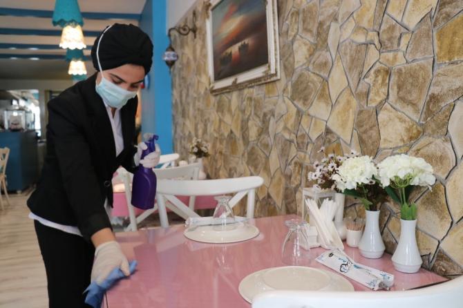 Restoranlarda korona virüs önlemi