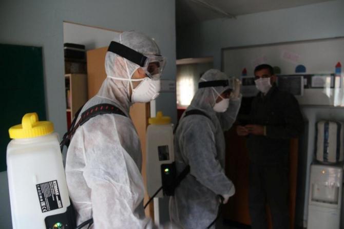 Kartal Belediyesi'nin korona virüse karşı önlemleri devam ediyor
