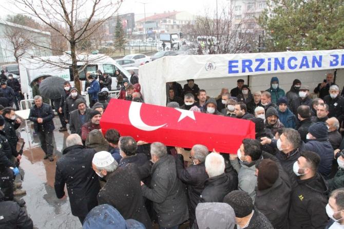 Kaymakam Dede Musa Baştürk, Erzincan'da son yolculuğuna uğurlandı