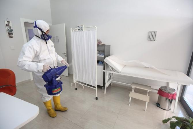 Nilüfer'de dezenfekte seferberliği