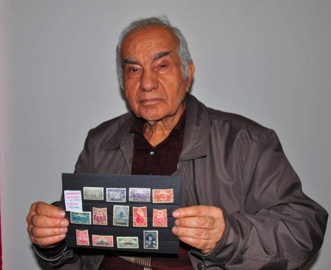 1915 basımı pullarla Çanakkale Zaferi'ni ölümsüzleştiriyor