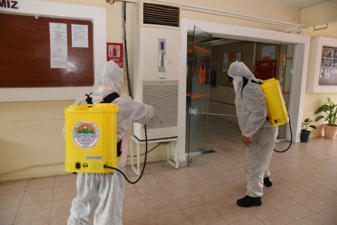 Toroslar'da korona virüs tedbir timi 24 saat iş başında