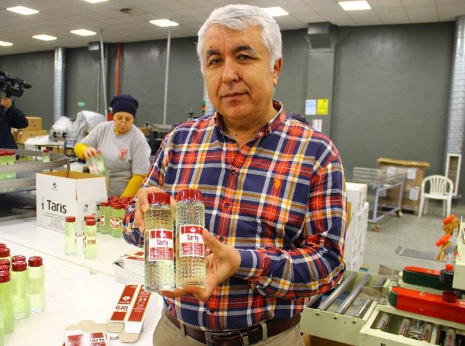 Tariş Kolonya Fabrikası tam kapasite üretime başladı