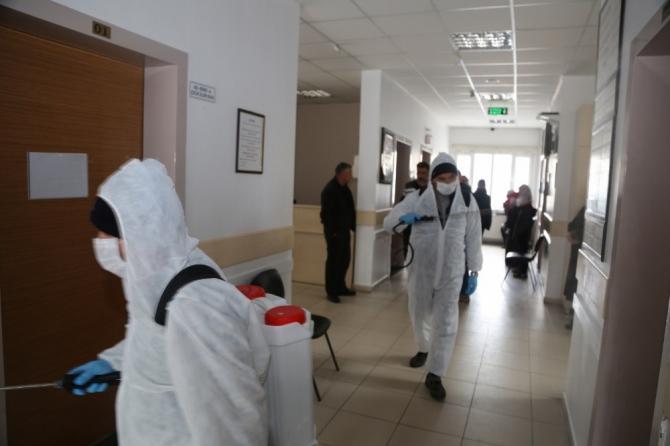 Niğde Belediyesi'nden 'Korana virüsle' örnek mücadele