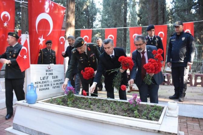 18 Mart Şehitleri Anma Ve Çanakkale Zaferinin 105. Yılı sade bir tören ile kutlandı