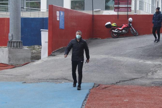 Zonguldak Kömürspor korona virüs nedeniyle antrenmana çıkmadı