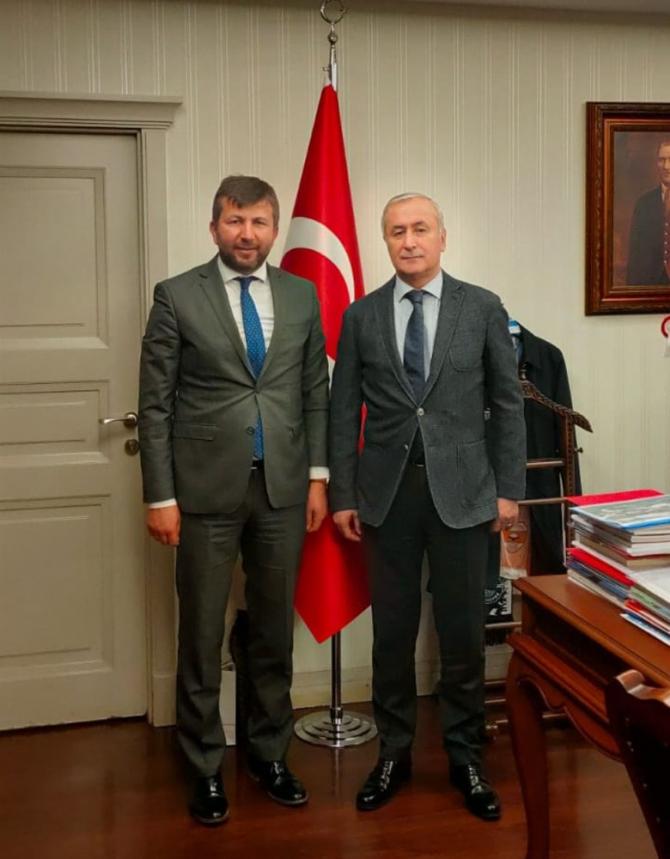 """Başkan Demirci: """"Spor lisesi ilçemize hayırlı olsun"""""""