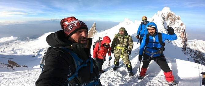 18 Mart Seyit Onbaşı tırmanışı yapıldı