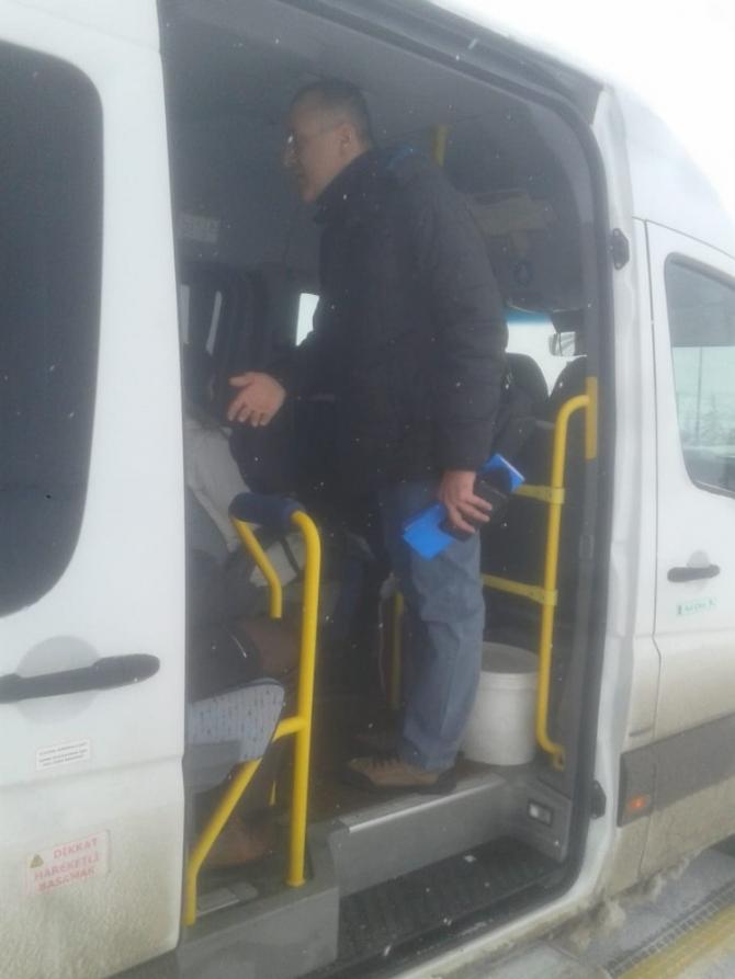 Jandarma kazaları önlemeye yönelik çalışmaları başlattı