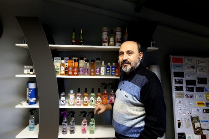 """""""Türkiye'de kolonya hiç bir zaman bitmez"""""""