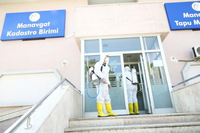 Manavgat'ta Korona virüs önlemleri arttırıldı