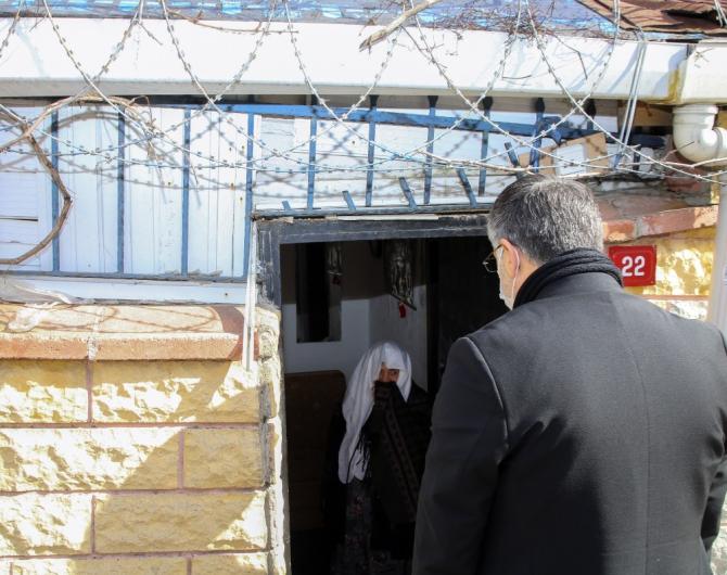 Evi temizlenen yaşlı kadından Cumhurbaşkanı Erdoğan'a dua